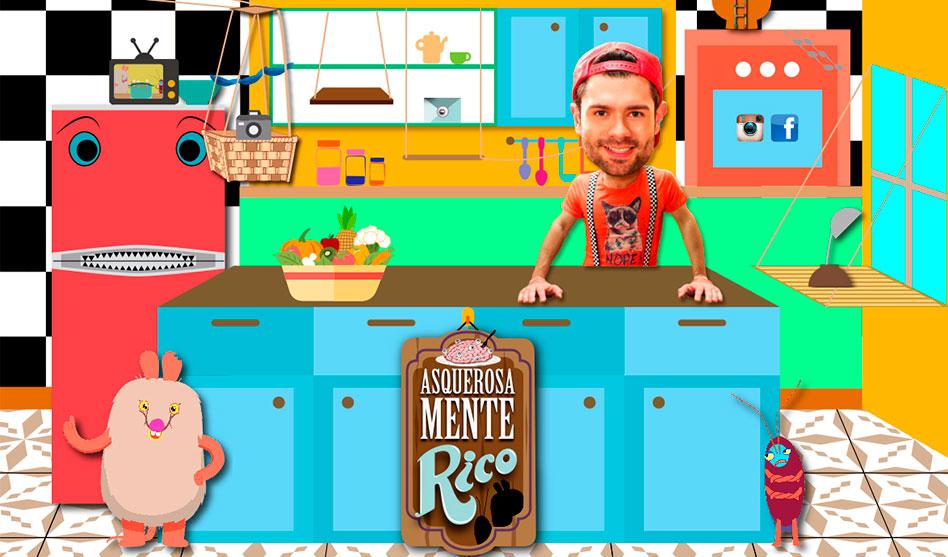 Asquerosamente Rico enseña a cocinar divertidamente