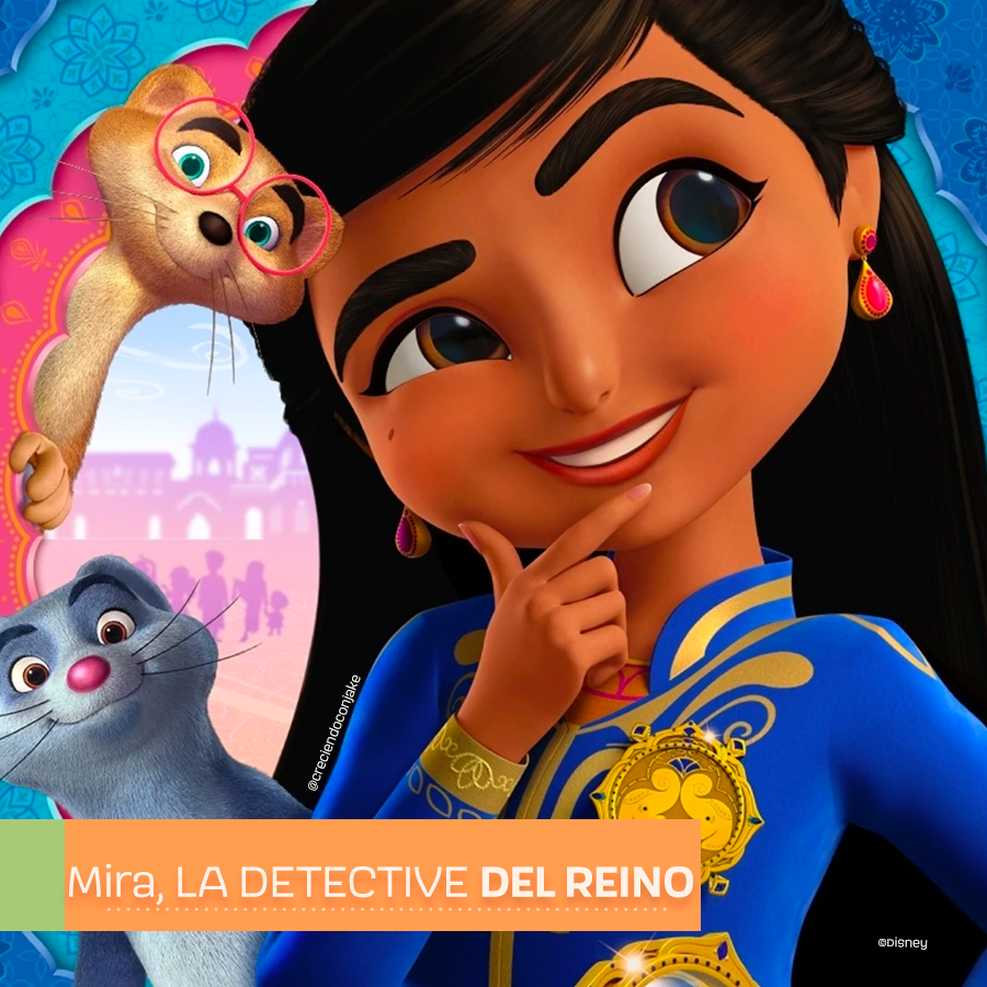 Mira, la detective del reino, nueva serie de Disney